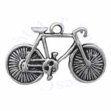 3D Ten Speed Bicycle With Spokes In Rim Charm