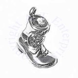 Work Boot Shoe 3D Charm
