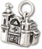3D Mission Style Adobe Church Charm