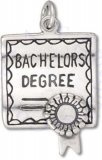 3D Bachelors Degree Certificate Charm