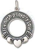 3D Friendship Loyalty Love Charm