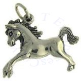 3D Large Jumping Pony Charm