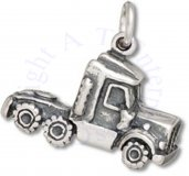 3D Semi Tractor 18 Wheeler Cab Truck Charm