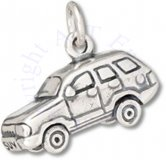 3D SUV Sport Utility Four Door Vehicle Charm