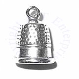 3D Thimble Charm With Detail
