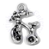 3D Childs Tricycle Bike Charm