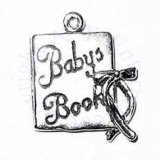 Baby Book With Bow 3D Charm