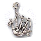Scottish Bagpipe 3D Charm