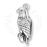 3D North American Bald Eagle Charm