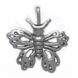 Butterfly With Cut Out Decorations 3D Charm