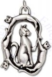 Circle Of Cats Cat Charm
