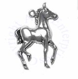 Small Walking Full Body Colt Horse Charm