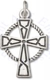 Celtic Cross In Circle Religious Christian Charm