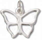 Butterfly With Cut Out Wings Charm