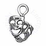Mini Drama Mask Comedy And Tragedy Faces Charm