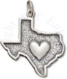 Heart Of Texas State Charm