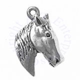 Horse Head And Neck Charm