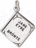 3D Two Sided Jane Eyre By Bronte Book Charm