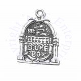 3D Old Vintage Music Record Jukebox Charm