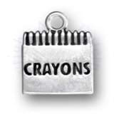 Large Box Of Childrens Crayons Charm