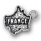 Map Of France Charm