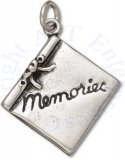 3D MEMORIES Scrapbook Photo Binder Charm