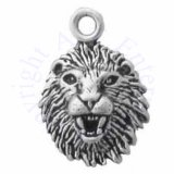 Mini Lion Head Charm