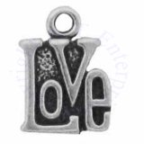 Mini Word Love In Box Shape Charm