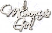 MOMMY'S GIRL Word Charm