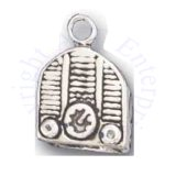 3D Old Vintage Fashion Radio Charm