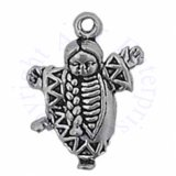 3D Native American Baby In Papoose Charm