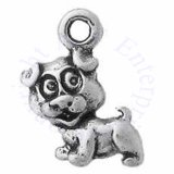 Partial 3D Mini Cute Puppy Dog Charm