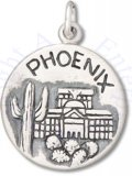 Phoenix Valley Of The Sun Two Sided Circle Charm