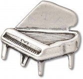 Baby Grand Piano With Open Lid Charm