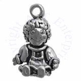 Sitting Rag Doll 3D Charm