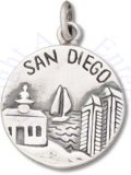 City Of San Diego Americas Finest City Two Sided Charm
