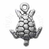 Mini Sea Turtle Swimming Down Charm