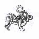 3D Small Standing Chow Dog Breed Charm