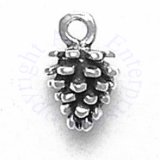 Small Pine Cone 3D Charm