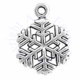 Small Six Branched Snowflake Charm