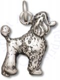 3D Toy Poodle Breed Dog Charm
