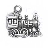 Train Engine 3D Charm