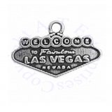Two Sided Welcome To Las Vegas Sign Charm