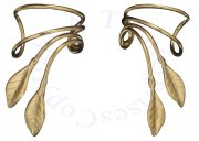 Sterling Silver Pierceless Right Only Ear Cuff Wrap Earring