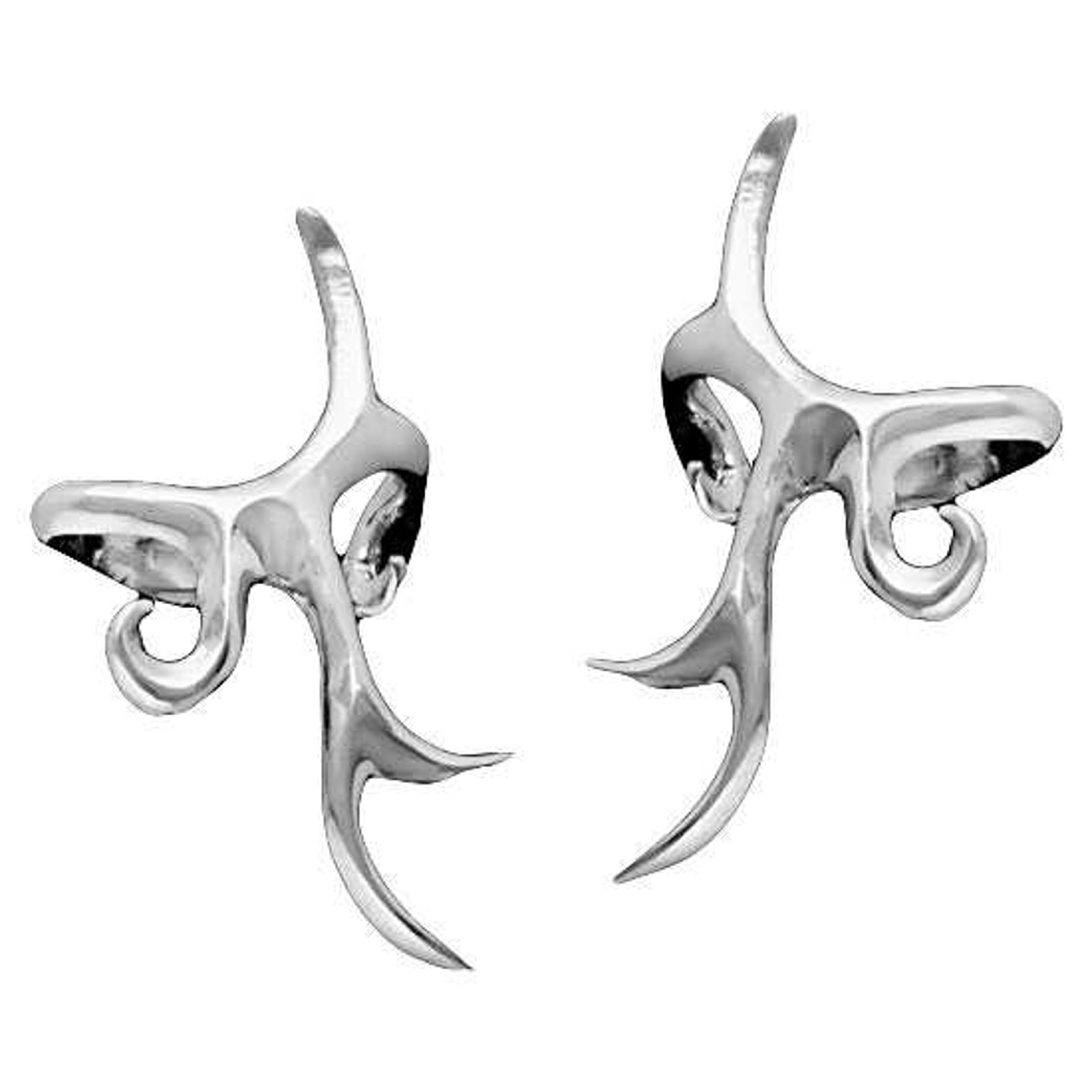 Pierceless Left And Right Tribal Design Ear Cuff Set