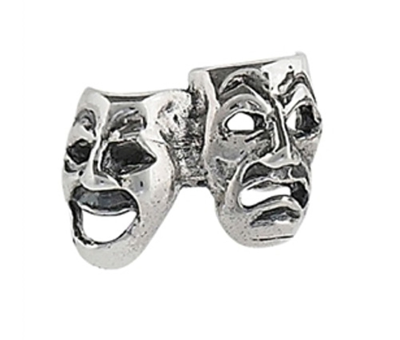Nonpiercing 6mm Comedy Tragedy Drama Masks Ear Cuff