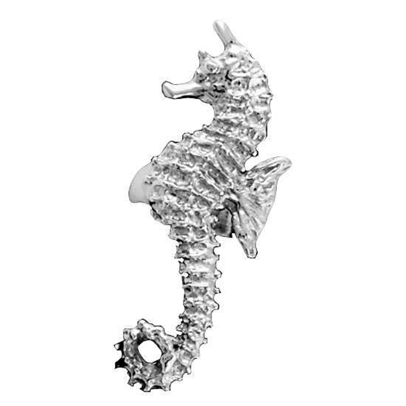 Left Only Ocean Sea Horse Ear Cuff