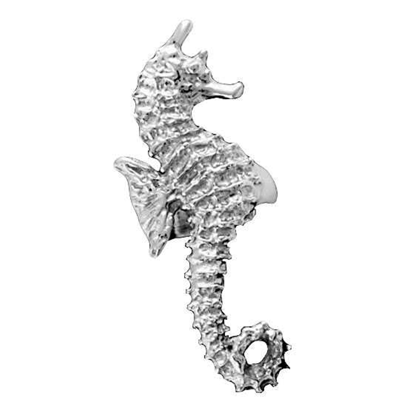 Right Only Ocean Sea Horse Ear Cuff