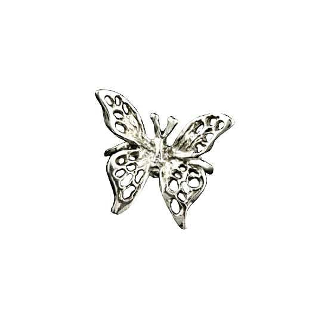 Left Only Pierceless 3D Open Butterfly Ear Cuff