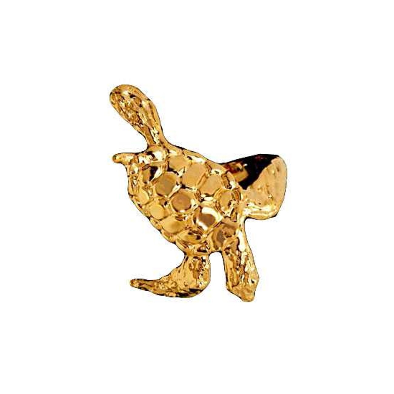 Left Only 14k Gold Vermeil Sea Ocean Turtle Ear Cuff Wrap